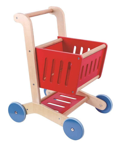 Wooden Shopping Cart by Tooky Toy