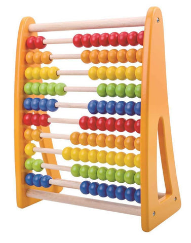 Wooden Beads Abacus by Tooky Toy