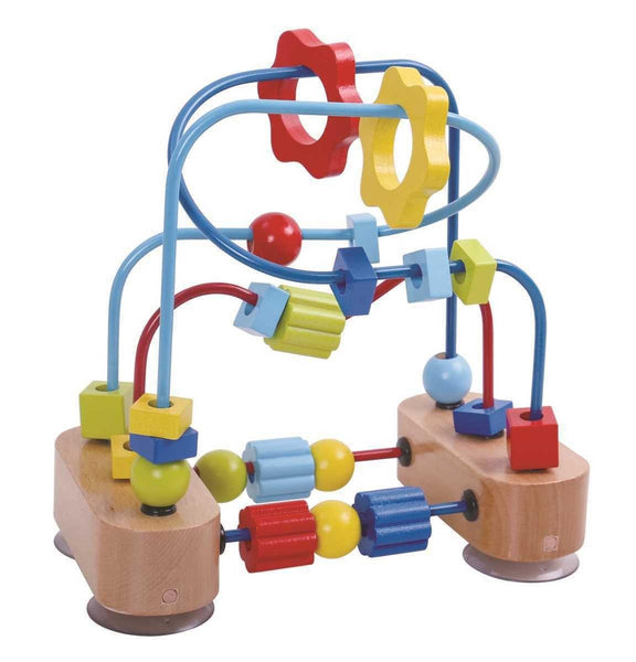 Wooden Beads Coaster by Tooky Toy