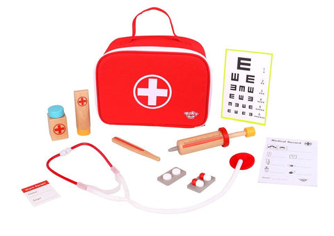 Wooden Little Doctor Set