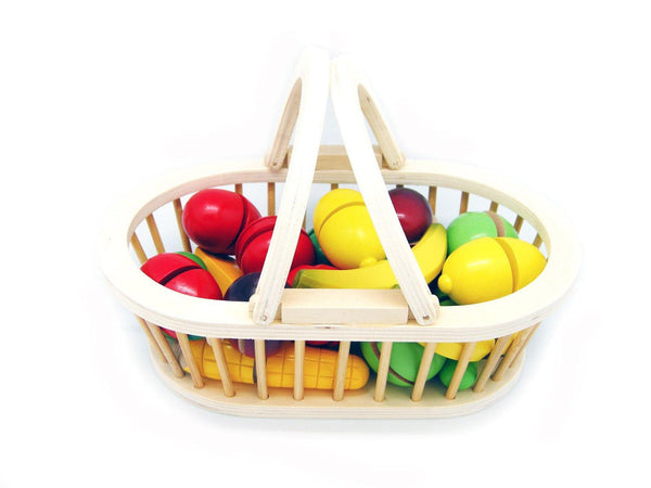 Wooden Fruit Basket - 20 Pcs