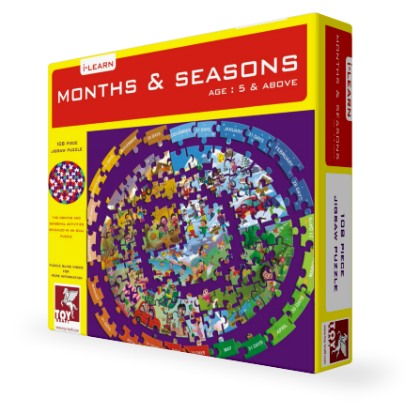 Months & Seasons by Toy Kraft