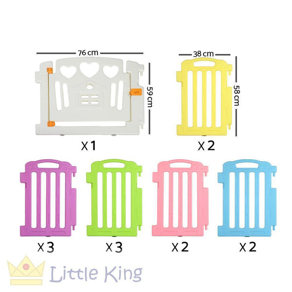 Cuddly Baby Playpen - 13 Panels