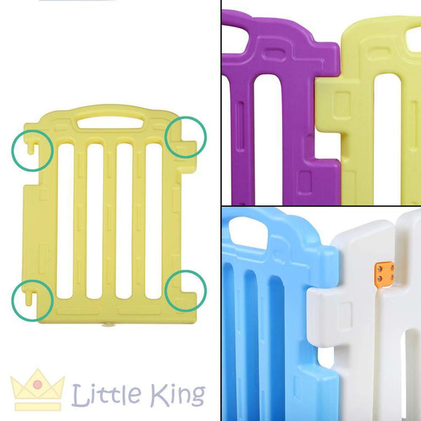 Cuddly Baby Playpen - 9 Panels