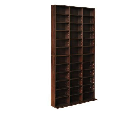 Artiss Adjustable DVD / Book Storage Shelf Brown