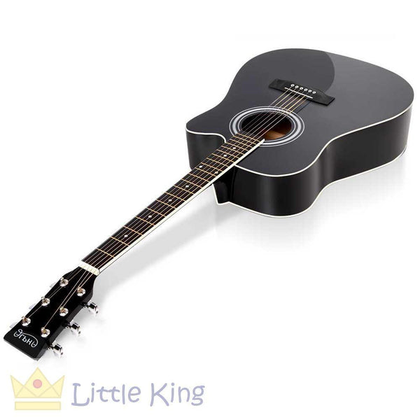 "41"" Steel Stringed Acoustic Guitar - Black"