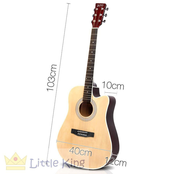 "41"" Steel Stringed Acoustic Guitar - Natural"