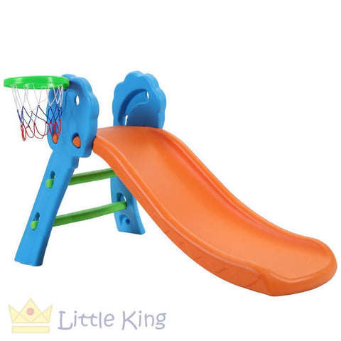 Slide with Basketball Hoop