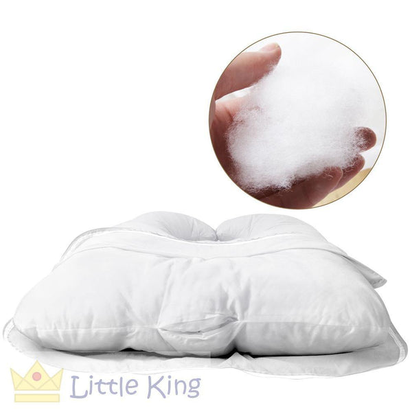 Maternity Body Support Pillow - White