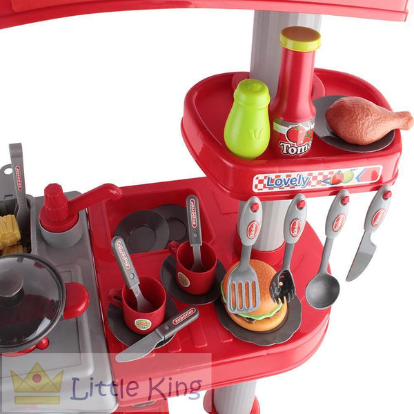 Kitchen Pretend Play Set - Red