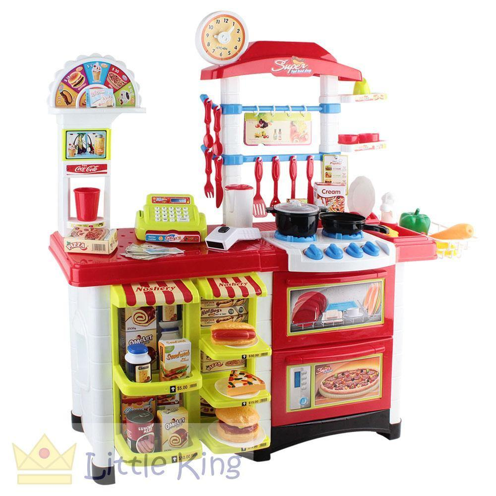 Kitchen Supermarket Pretend Play Set - 2in1