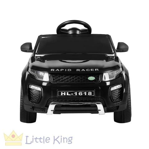 Kids Ride On Car - Evoque Black