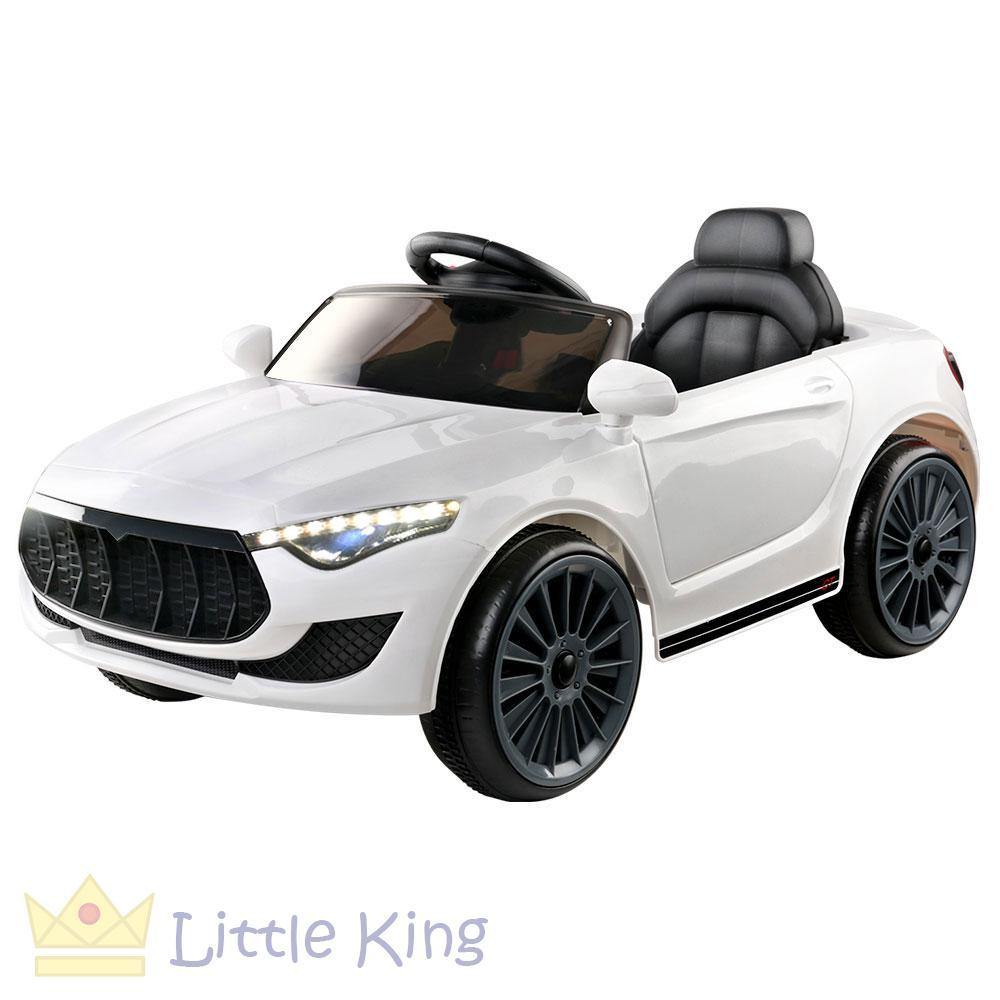 Rigo Maserati Kids Ride On Car -White