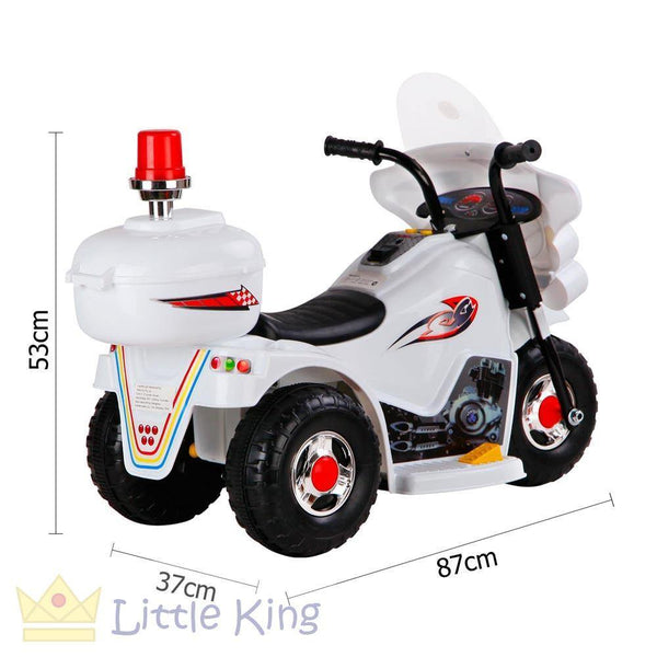 Ride on Motorbike - White