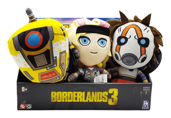 Borderlands 3 Series 1 - Plush Toys Set