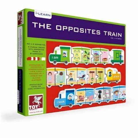 The Opposites Train by Toy Kraft