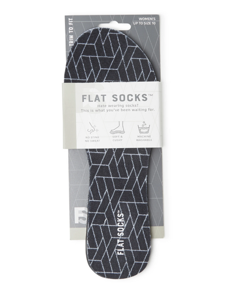 Flat Socks BLACK