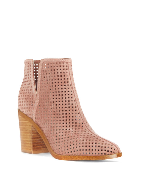 Larocka Perforated Bootie