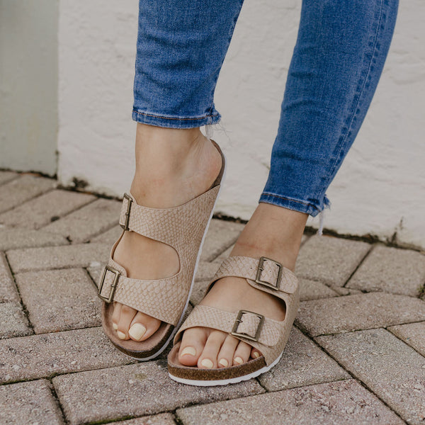 Not Rated Birky Blush Sandal