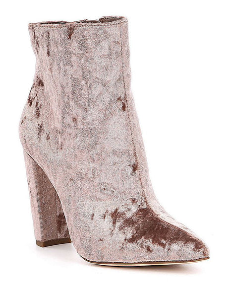 Teddi Crushed Velvet Boot