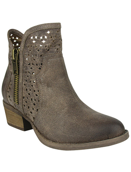 Etta Perforated Bootie