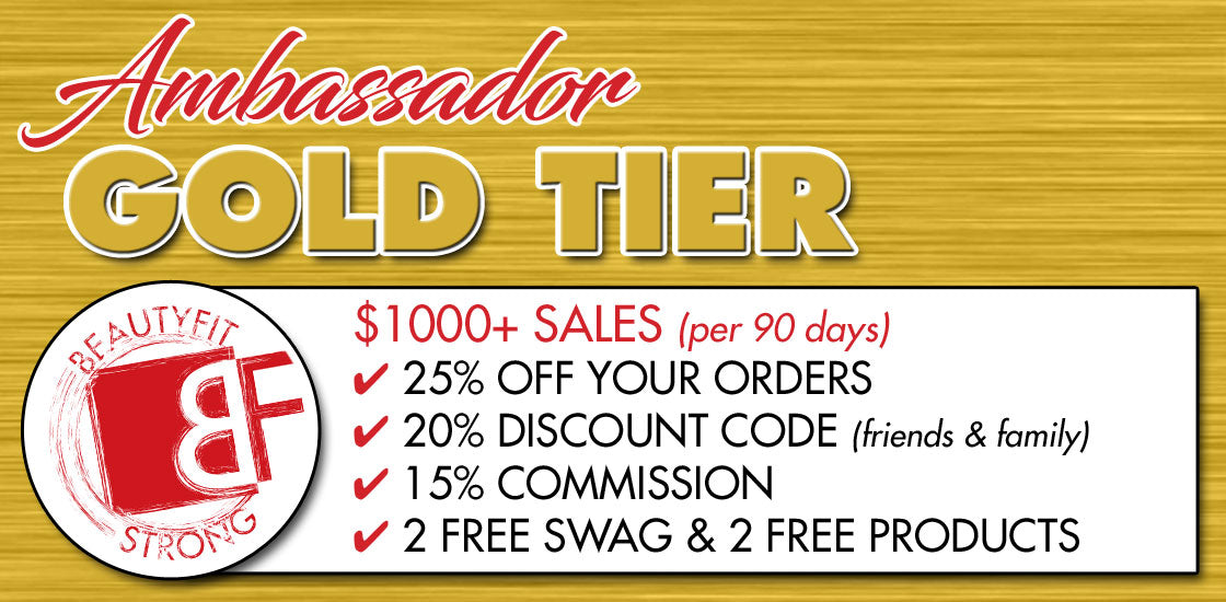 BeautyFit Ambassador Program - Gold Tier