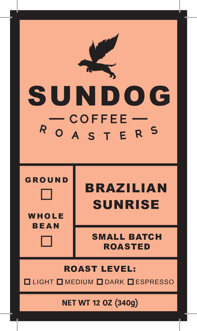 Sundog Coffee Roasters - Brazilian Sunrise - Black Iron Tea Traders