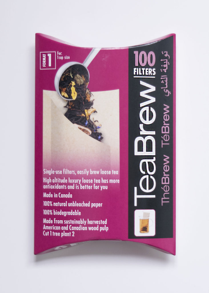 Tea Brew #1 100 pcs 1 Cup Size - Black Iron Tea Traders