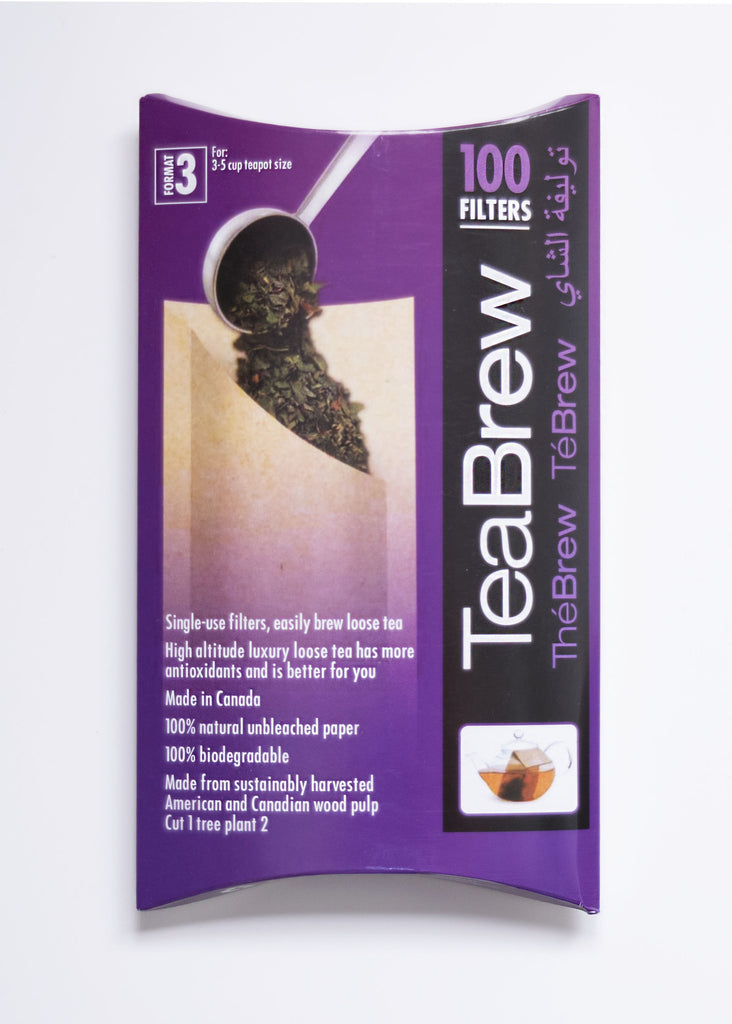 Tea Brew #3 100 pcs 3-5 Tpot Size - Black Iron Tea Traders