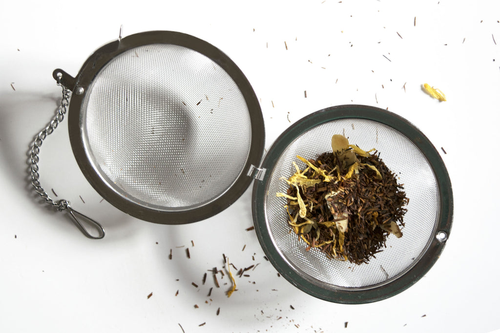 Loose leaf tea mesh ball