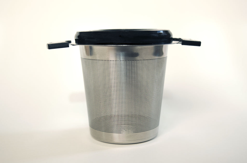 Eurotec Laser Mesh Pot & Cup Strainer - Black Iron Tea Traders
