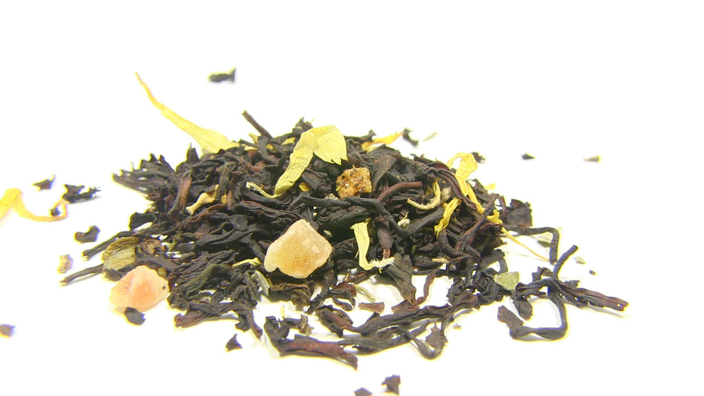 Black Tea - Peach Apricot - Black Iron Tea Traders