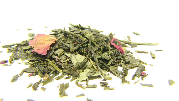 Green Tea - Sencha Kyoto Cherry Rose - Black Iron Tea Traders
