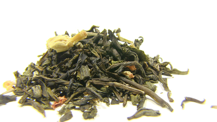 Green Tea - Jasmine With Flowers - Black Iron Tea Traders