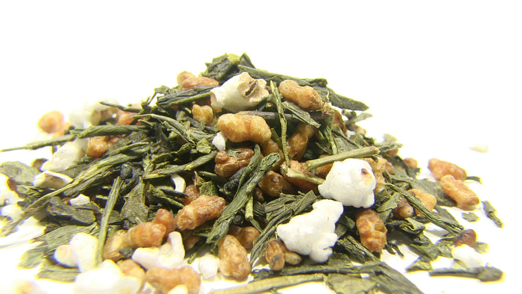 Green Tea - Japan Genmaicha Yamasaki - Black Iron Tea Traders