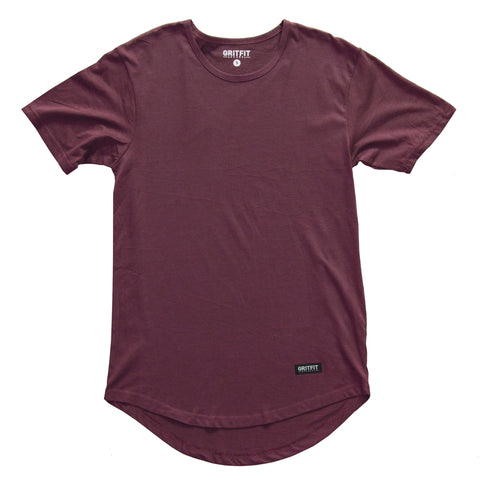 Lifestyle Drop Tee (Maroon)