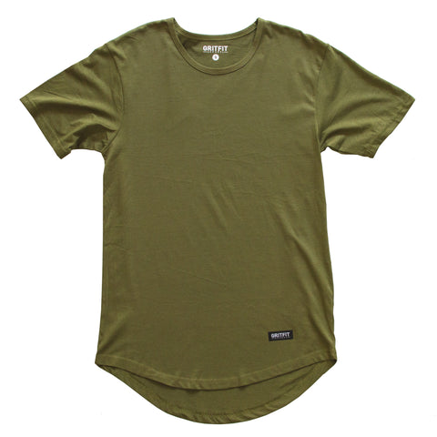Lifestyle Drop Tee (M. Green)
