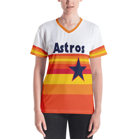Astros Retro (Custom Name) - Women's