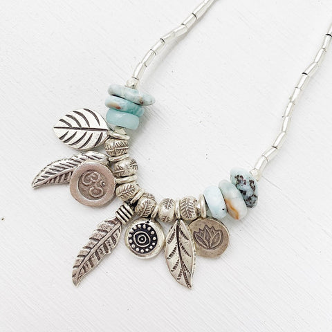 SILVER GODDESS SHORT NECKLACES