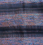 "100% COTTON TRADITIONAL ""KAREN HILL TRIBE"" SCARF - BLACK"