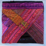 LARGE TRIBAL COTTON HANDBAG