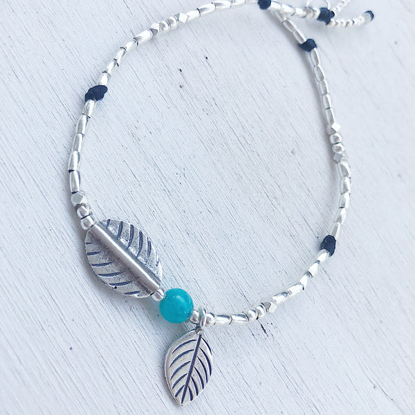 AMAZONITE NATURE ANKLET
