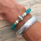 SISTERHOOD TURQUOISE FRIENDSHIP BRACELET