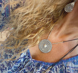 MANDALA SUN ADJUSTABLE NECKLACE