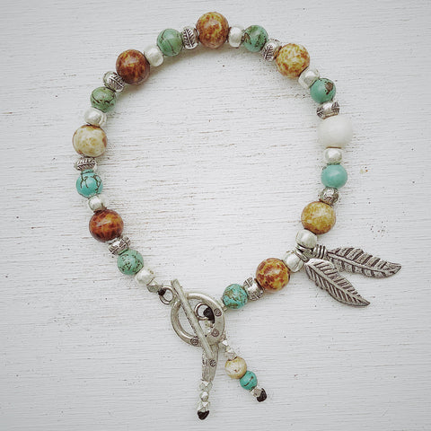 FEATHER WARRIOR BRACELET