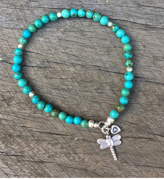 DRAGONFLY DREAMING ANKLET