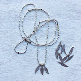 FAMILY OF FEATHERS NECKLACE