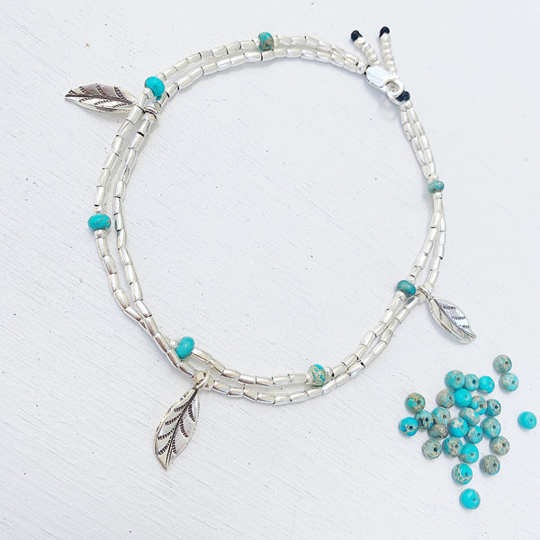 TURQUOISE GYPSY ANKLET