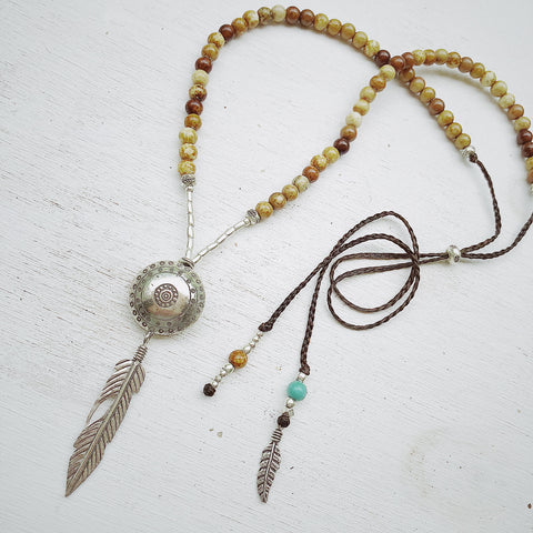 EARTH GODDESS NECKLACE