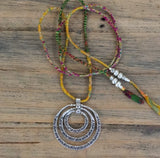 BOHEMIAN GYPSY SILK NECKLACE